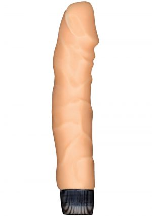Natural Skin Big Boss Vibrator 9 Inch Flesh
