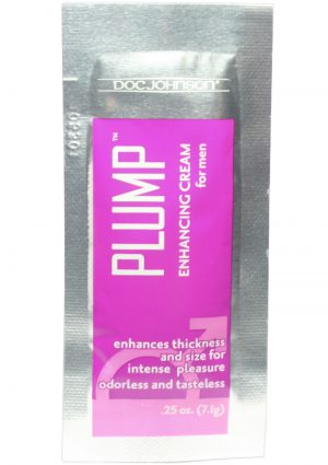 Plump Enhancing Cream For Men Foil Packs 100 Piece Bulk