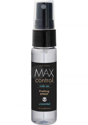 Max 4 Men Max Control Male Sex Prolong Spray Unscented 1 Ounce