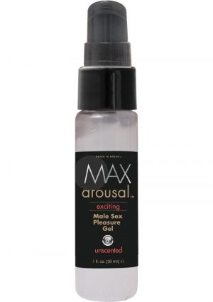 Max Arousal Exciting Male Sex Pleasure Gel 1 Ounce