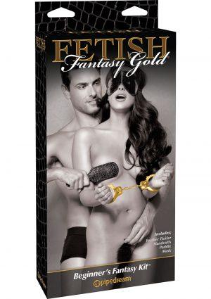 Fetish Fantasy Gold Beginner`s Fantasy Bondage Kit Black/Gold