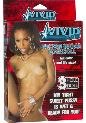 Vivid Raw Brown Sugar Inflatable Love Doll