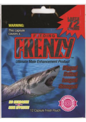 Feeding Frenzy Ultimate Male Enhancement Pills 12 Each Per Pouch