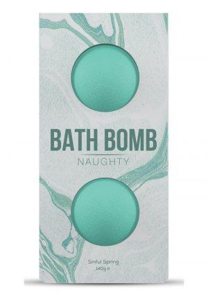 Dona Naughty Fragrance Bath Bomb Sinful Spring 2 Per Box