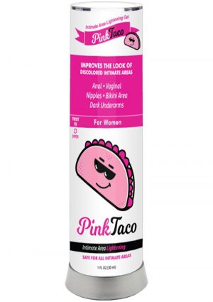 Pink Taco Intimate Lightening Gel 1 Ounce Bottle