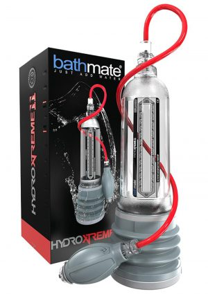 Bathmate Hydroxtreme11 Penis Pump Waterproof Clear