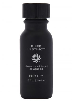 Pure Instinct Pheromone Infused Cologne For Him .5 Ounce Bottle