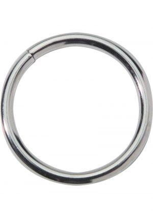 Metal Cock Ring 2 Inch Nickel