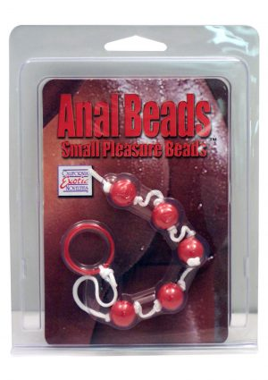 Anal Beads Small Pleasure Beads Assorted Colors