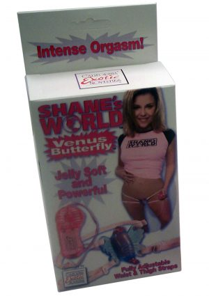 SHANES WORLD VENUS BUTTERFLY WEARABLE STIMULATOR PINK