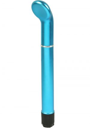 Clit O Riffic G Spot Vibe Waterproof 6.5 Inch Blue
