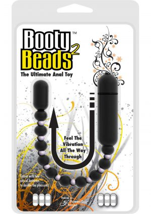 Booty Beads 2 The Ultimate Anal Toy Waterproof 9.5 Inch Black