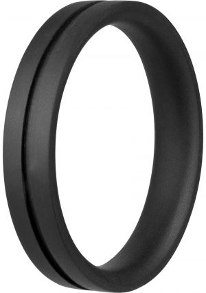 Ring O Pro Xtra Large Silicone Cockrings Waterproof Black 12 Each Per Box