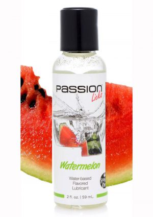 Passion Licks Water-based Flavored Lubricant Watermelon 2 Ounce