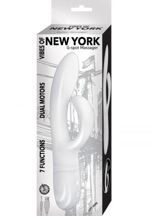 Vibes Of New York Gspot Massage White Multi Function