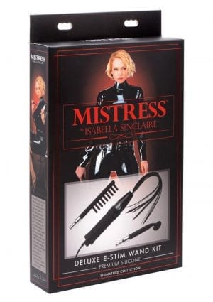 Mistress by Isabella Sinclaire Premium Silicone Deluxe E-Stim Wand Kit