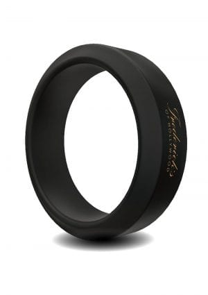 Frederick`s Of Hollywood Silicone Stamina Cock Ring Shower Proof Black